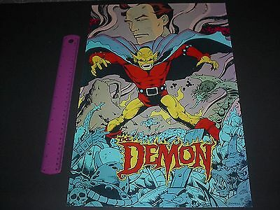 Dc Comics Justice League Of America Etrigan The Demon Poster Pin Up