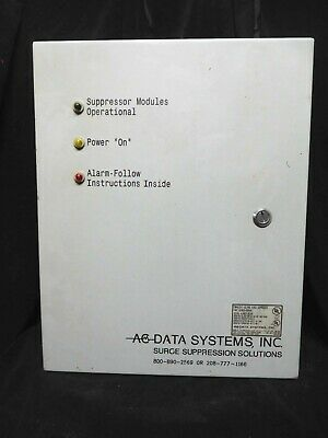 AC DATA * TRANSIENT SURGE SUPPRESSOR TVSS *  P24XXA * 120/208, 3 PH, 400V Rating