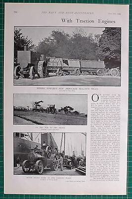 1900 Boer War ~ Traction Engines South Africa Fowlers Armoured Maritzburg