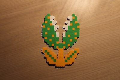 Piranha Plant Pixel Art Bead Sprite from Super Mario Bros for NES