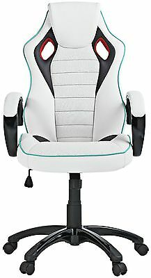 X-Rocker 2.0 Wireless  PU Gaming Chair  white With Sound T23.