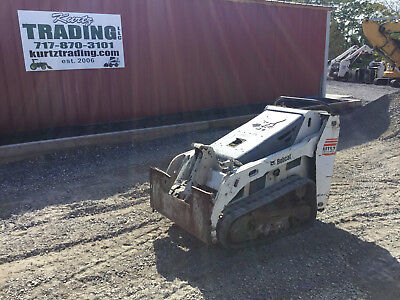 2007 Bobcat MT52 Tracked Skid Steer Loader!