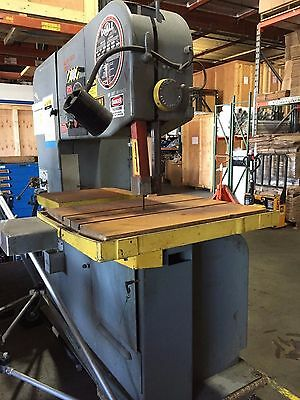 "Do-All 36"" Band Saw Model 3613-20 - 3 Phase 460 Volt - Very Good Condition"
