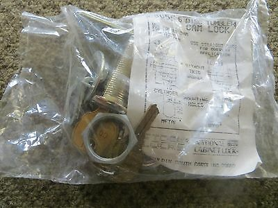 """National C8055 cam lock 1-7/16"""" cylinder length for drawers"""