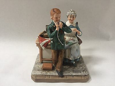 "Norman Rockwell ""A Special Treat"" Figurine"