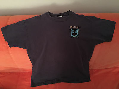 Vintage Pink Floyd Division Bell Concert Shirt-Rare Patch-David Gilmour-1994