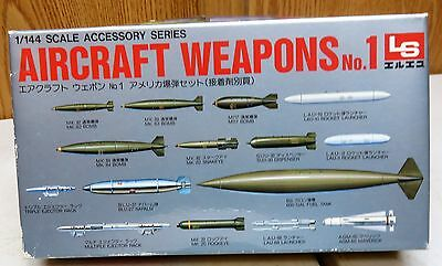 Ls Aircraft Weapons No.1-- 1/144  Scale Model Kit New Old Stock ! !