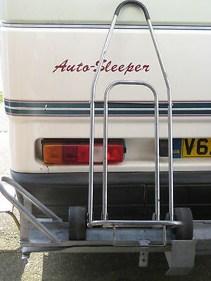 Caravan / motorhome Trolley with waste water container and 10 l water container