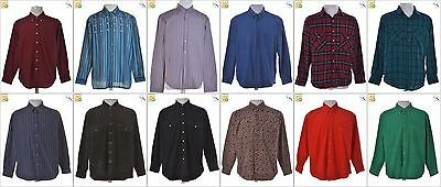 JOB LOT OF 33 VINTAGE MEN'S SHIRTS - Mix of Era's, styles and sizes (22951)
