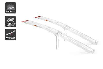 Certa 2 Pack Aluminium Folding Loading Ramp (1360kg)