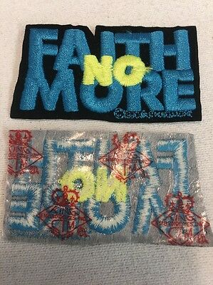 True Vintage Original Rare 1990 Faith No More Patch Pre-1994 (mp40)