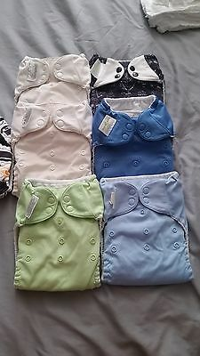 Lot of 30 Cloth Diapers and Accessories for Sale