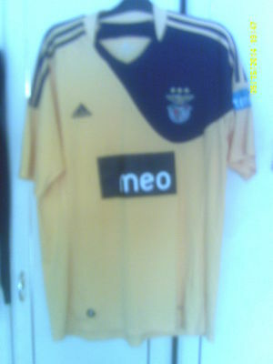 Benfica Away (Yellow MEO) in XL (VGC)