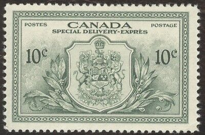 Stamps Canada, # E11, 10¢, 1946, Lot of 1 MH stamp.