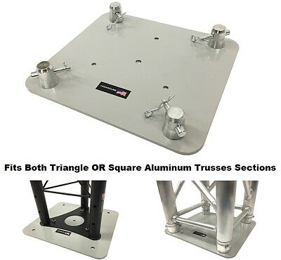 """12""""X13"""" Base Plate/ Top For Square or Triangle Trussing Fits F34 Global Truss SQ"""