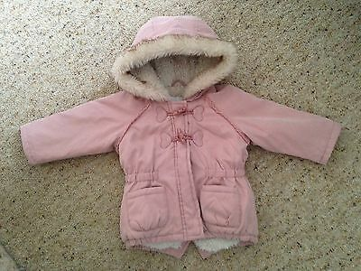 Baby Girls Coats, 6-9 Months, Excellent  Condition