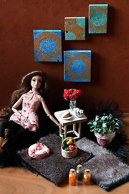 Diorama Props Fashion Royalty, Barbie, Phicen, 1/6 scale, Hot Toys, Dragon