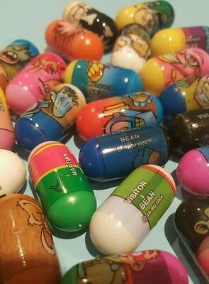 Lot of Mighty Beanz 2004 & Assorted Characters Retro Toys- Ghost Admiral Hockey