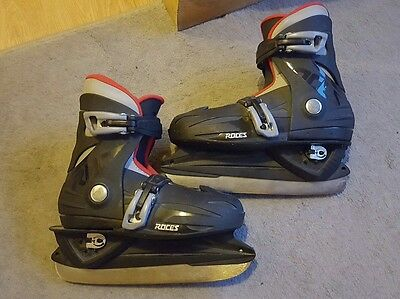 roces mck ll ice skates size 12jr-2 adjustable