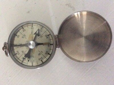 Vintage Hunter Compass with Flip Case