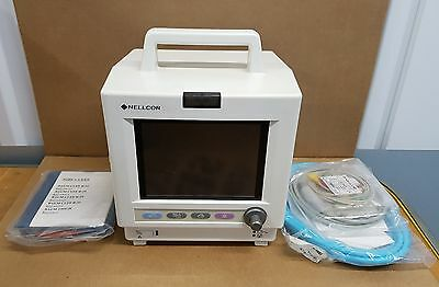 NELLCOR N5500P Multiparameter Patient Monitor (TESTED AND WARRANTY)