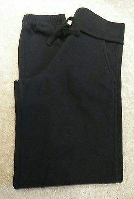 Girls Black Joggers/Tracksuit Bottoms - Age 10-11 years - *Ex Condition