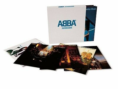 ABBA - 'The Studio Albums' Vinyl 8 LP Box Set - UNPLAYED