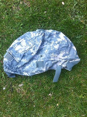 US Forces ACU Camouflage Cover For The ACH Size Large/Xlrge