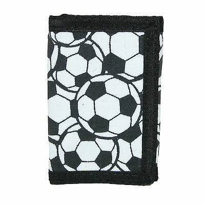 New CTM Kid's Soccer Ball Print Trifold Wallet