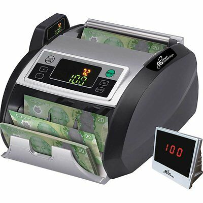Royal Sovereign Electric Canadian & US Bill Counter RBC-2200-CA