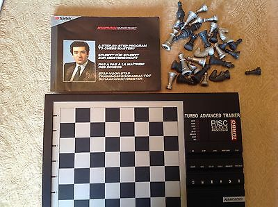 Saitek Kasparov Turbo Advanced Trainer Electronic Chess Unboxed