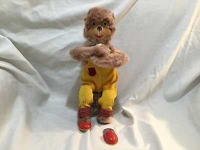 Bubble Blowing Monkey Via Japan Vintage Battery Operated Toy