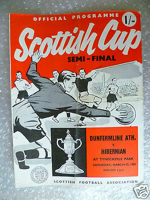 1965 Scottish Cup Semi FINAL - DUNFERMLINE ATH. v HIBERNIAN, 27th March