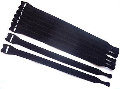 30x Touch Fastener Cable Tie Soft 330 x 13mm