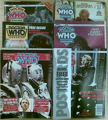 Doctor Who Magazine : Incl Original Gifts - Many Issues Available -   £4.00 Each