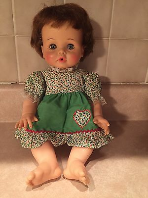 "15"" Ideal Doll Corp Betsy Wetsy Doll Marked BW-15-X"
