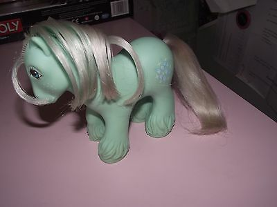 Rare My Little Pony Vintage G1 Mountain Boy, Ice Crystal, 1987 Shire Mlp, Lovely