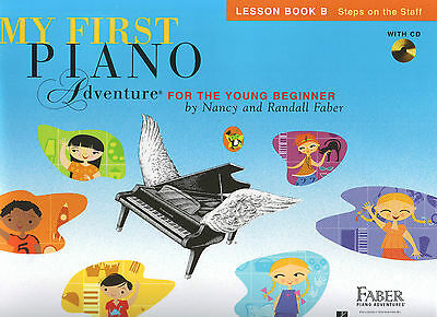 My First Piano Adventure for the Young Beginner - Lesson Book B + CD  FF1621