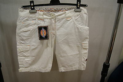 Dickies Treacle Shorts White M Bermuda Women New Summer Skate