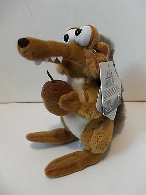 Dreamworks Ice Age 4 Movie Scrat Squirrel Plush Soft Toy Animal Figure With Tag