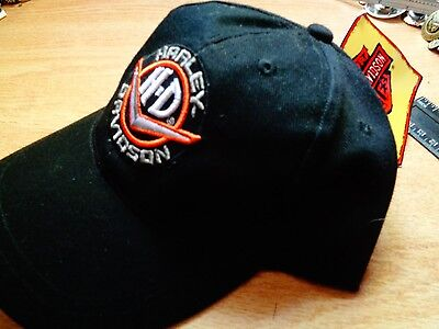 Harley Davidson Hat Classic Factory Motorcycle Dealership Cap NEW OLD STOCK Pin