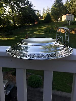 Antique 10 inch Gorham Sterling Silver Bowl, 339 g.