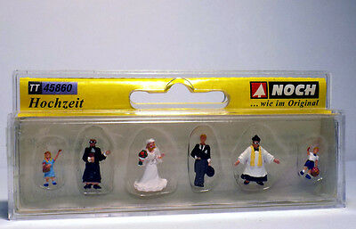 Noch 45860 Wedding, Figurines, TT 1:120, NEW