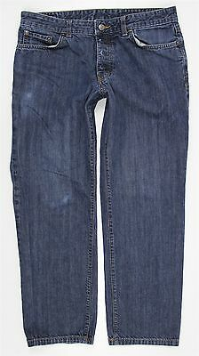 Patagonia Regular Fit Straight Blue Jeans MENS 34 x 29 Button Fly Organic Cotton