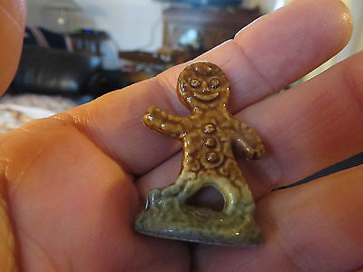 Wade Red Rose Tea Nursery Rhyme Figurine Gingerbread Boy