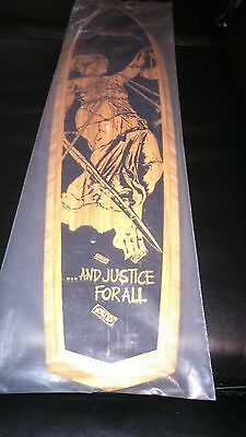 RARE NEW Metallica OFFICIAL LIMITED And Justice For All SkateBoard Skate Deck