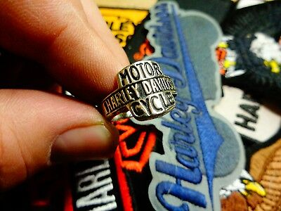 Vintage Harley Davidson Ring Factory HD Motorcycle Dealership Jewelry Size 9