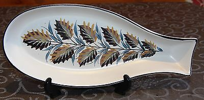 Bourne Denby Glyn Colledge Fish Dish - Hand Painted - Free Post
