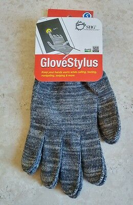 NEW SIIG GloveStylus Small Touchscreen Gloves for Smartphone Phone Tablet iPhone