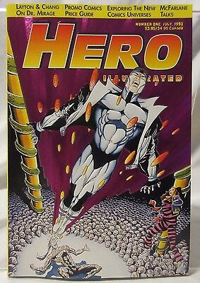 Hero Illustrated Number One July 1993